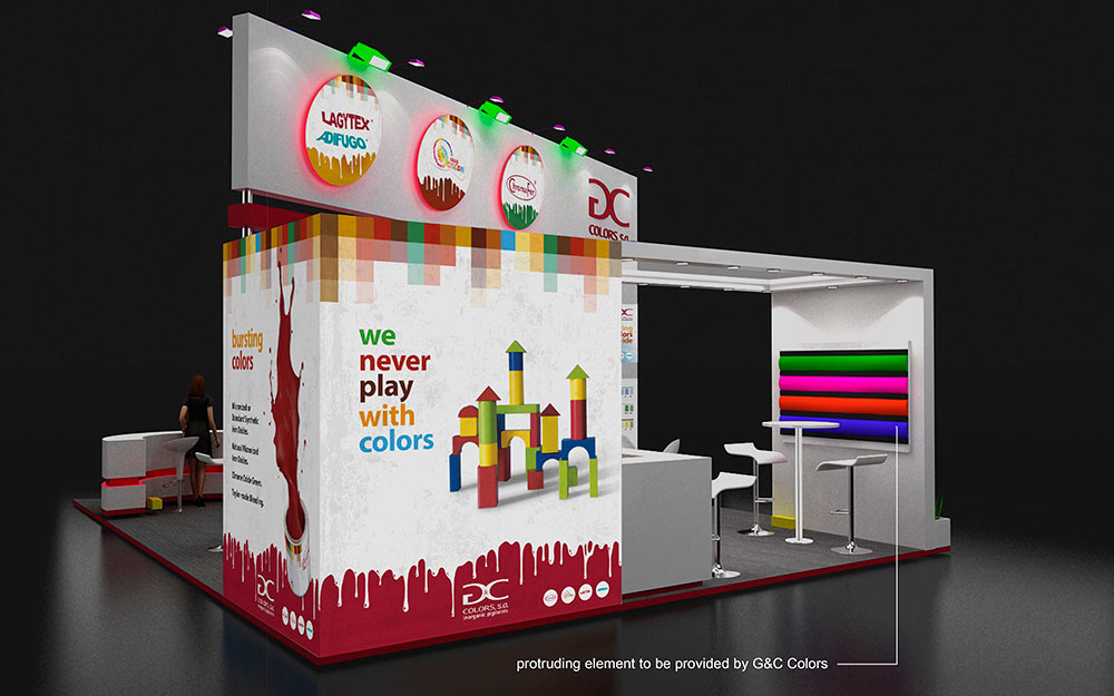 Stand G&C Colors 2017 - 2