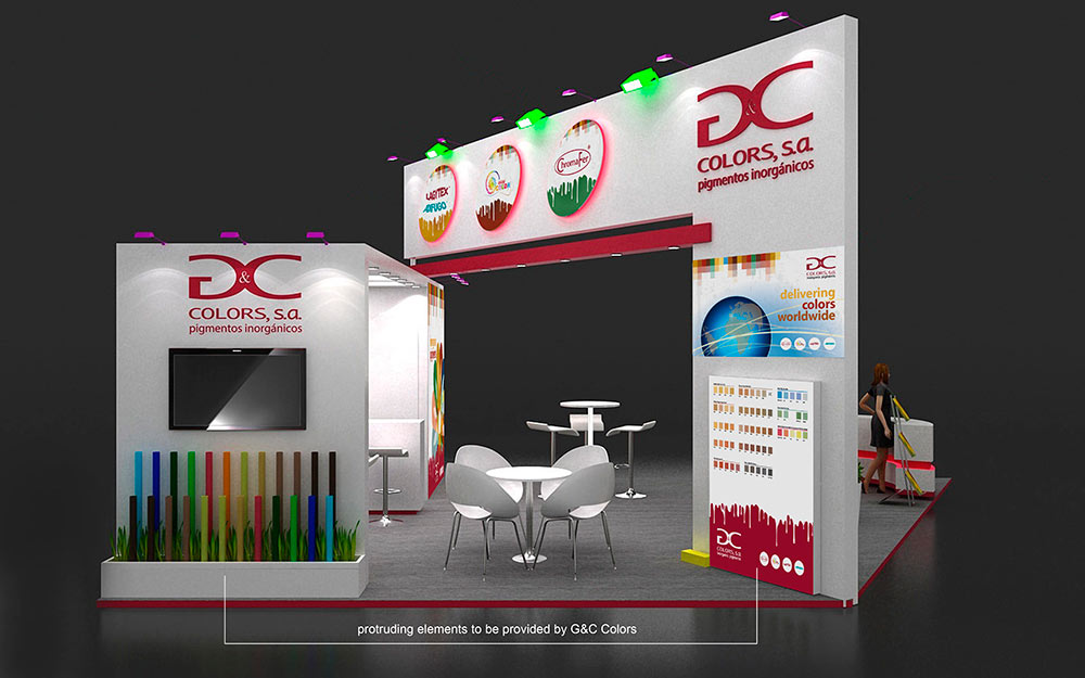 Stand G&C Colors 2017 - 3