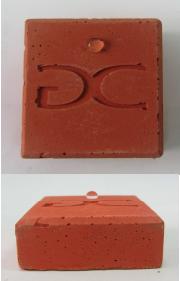 Pieza de colada elaborada  con el aditivo hidrófugo Easycolor